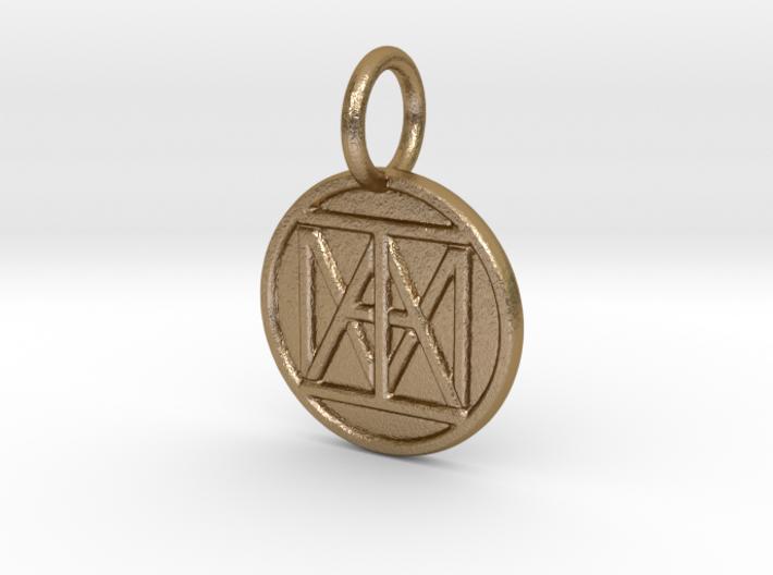 "United ""I AM"" Creator Keychain 3d printed"