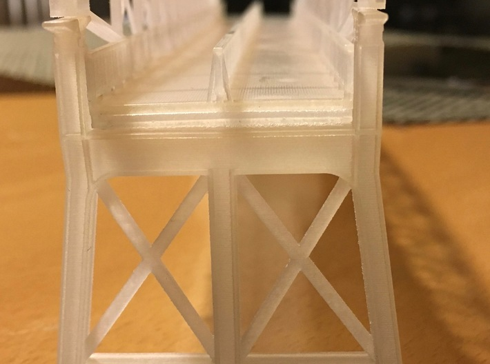 Hoogespoorbrug  Zwolle 3d printed bridge support