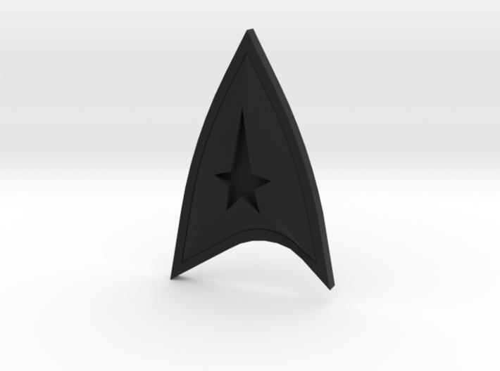 Star Trek Online Command Combadge 3d printed