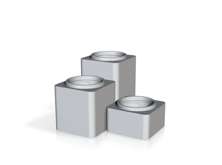 Cubic Tealight Holder 3d printed