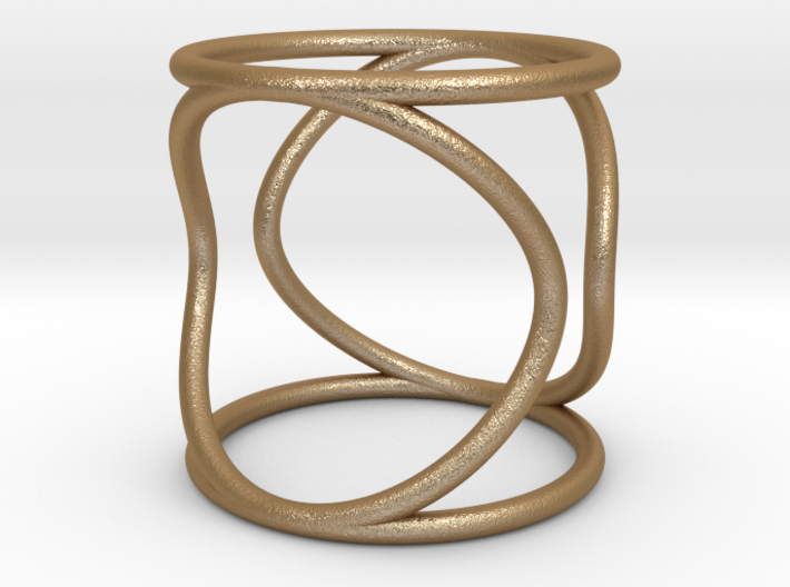 Ring The Hula Hoop Size 10US (61.5 mm EU) 3d printed