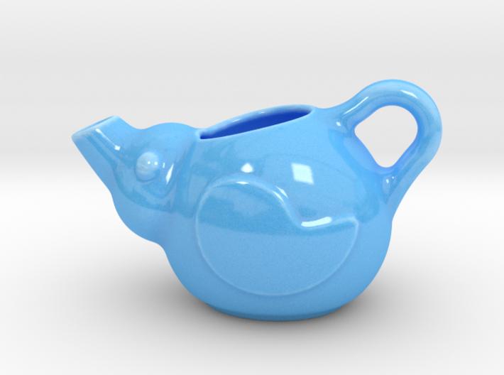 Birdie Teapot 3d printed