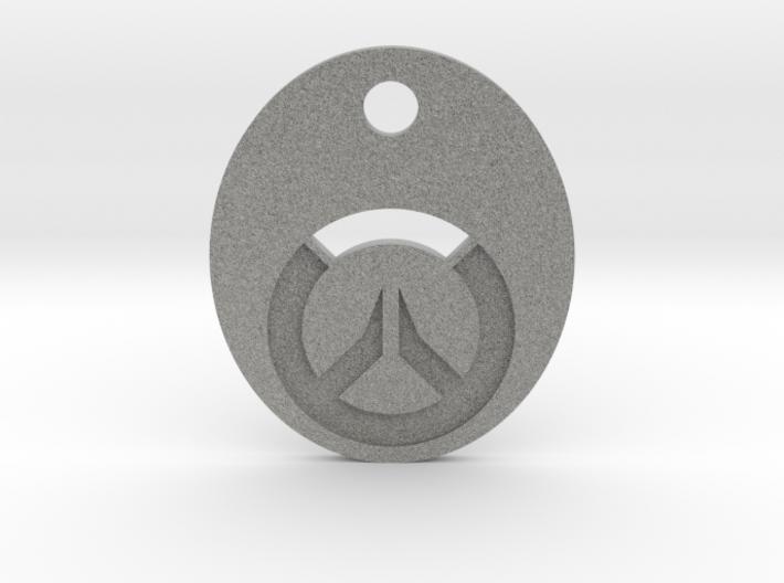 Overwatch Symbol Keychain 3d printed