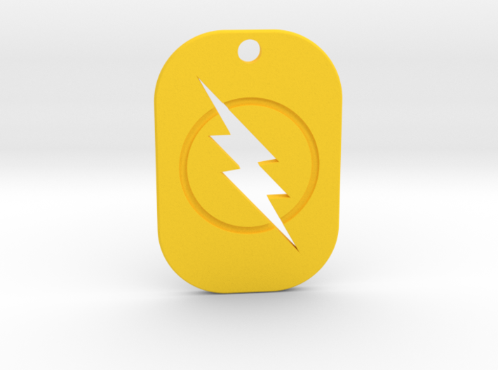 The Reverse Flash Keychain 3d printed