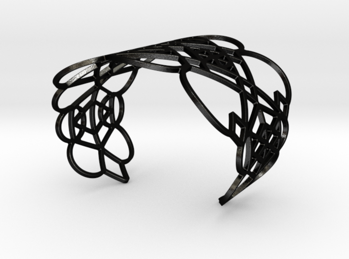 Circles and Lines 3d printed
