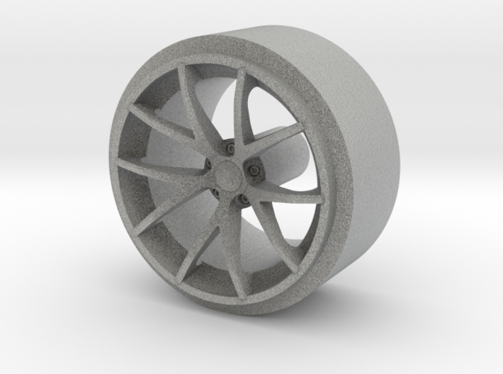 Rear Corvette Spyder Wheel 3d printed