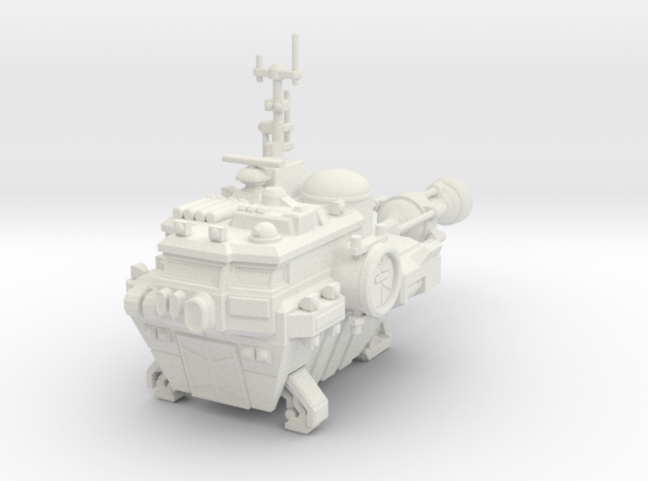 Utility Ship 3d printed