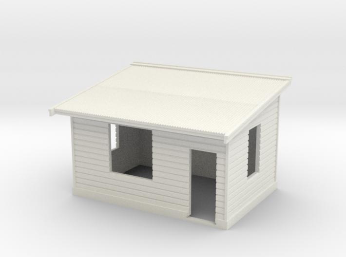 HO NSWGR Platform Signal Box - Right Hand Door 3d printed