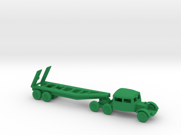 1/144 Scale Scammel Tank Transporter And Trailer 3d printed