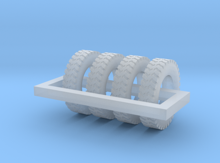 1/87 Ground Gripper Tires X 4 3d printed