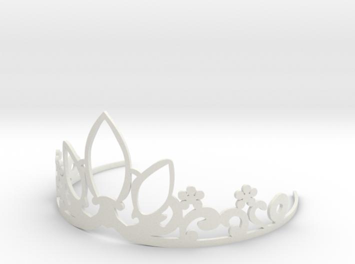Rapunzel's Tiara 3d printed