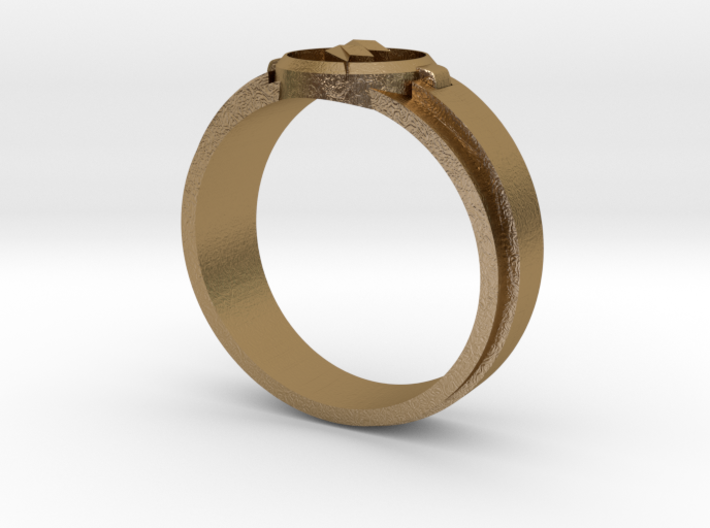 Reverse Flash Ring Size 10 3d printed