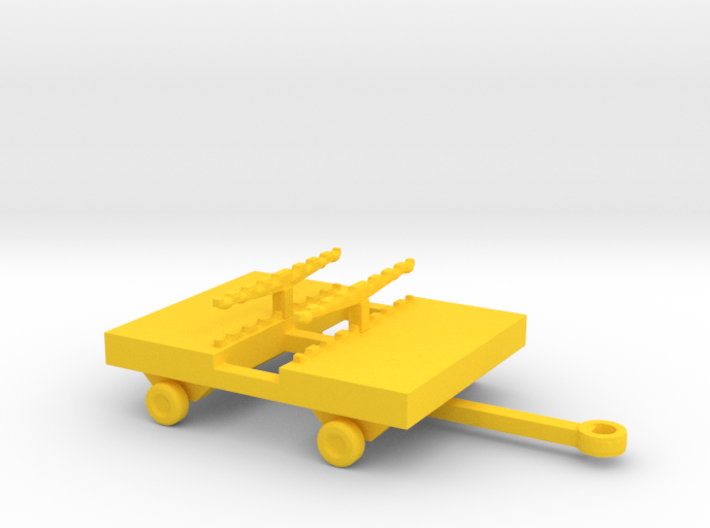 1/144 Scale Bomb Cart 1 3d printed