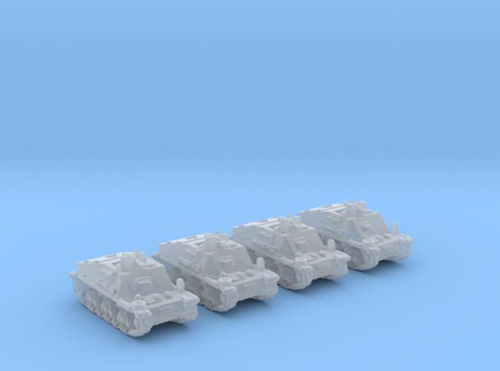 Belehl-panzer 1/285 set x4 3d printed
