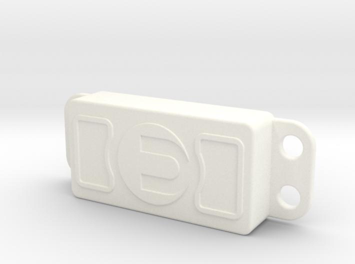 E-MAXX Servo Cover Plate 3d printed