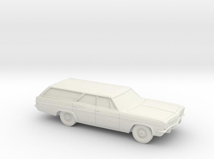 1/87 1965 Chevrolet Impala Station Wagon 3d printed