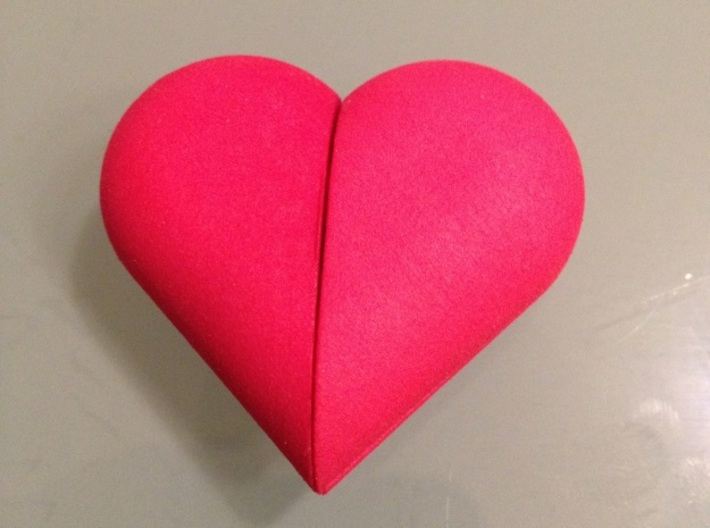 Heart Amulet Small - Inner Part 2 3d printed