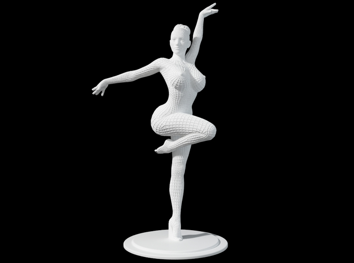 Ballet Girl Body 30cm 3d printed