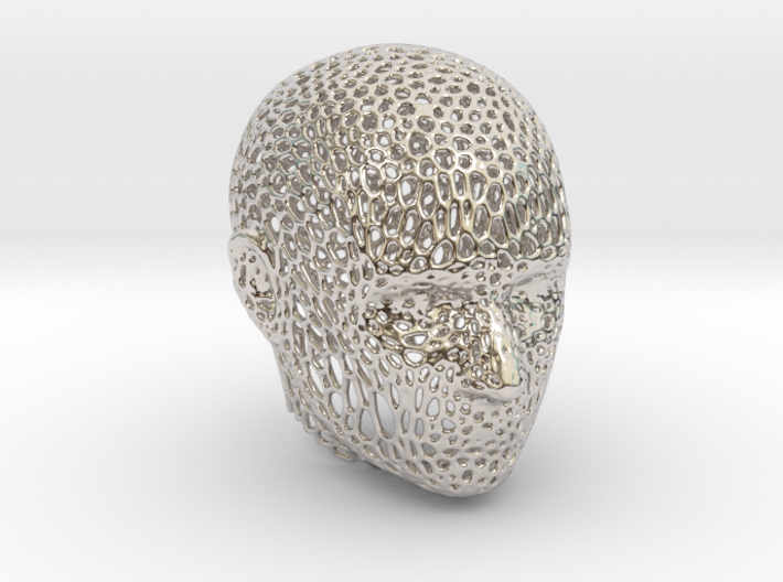 Voronoi Head 3d printed