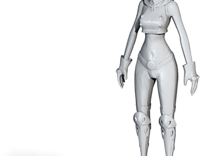 Printle C Robot Woman 001- 1/24 3d printed