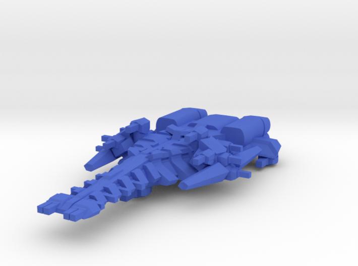 Colour Rim Bastion Battle Cruser 3d printed