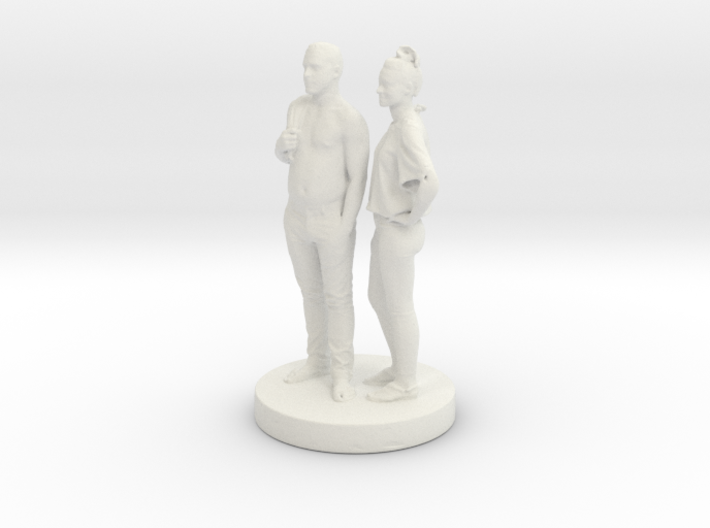 Printle Couple 058- 1/24 3d printed
