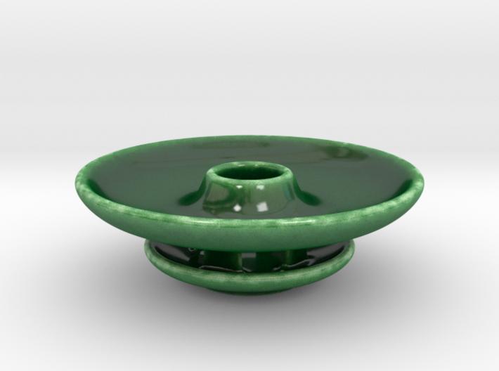 Discrete Olive Dish 3d printed