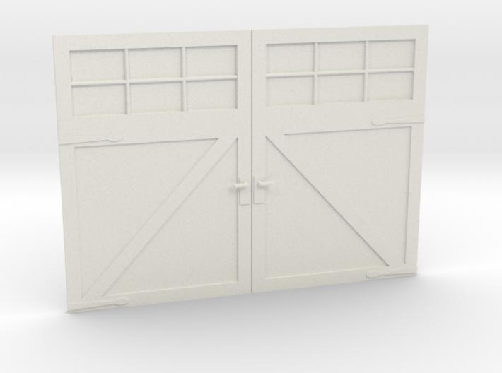 1:24 Scale Settlers Garage Door 3d printed