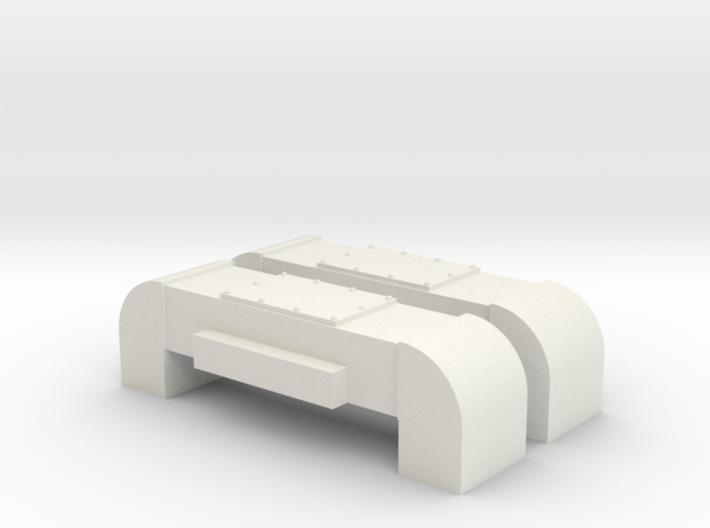 Horst Air Filter (Round) (G - 1:29) 2X 3d printed