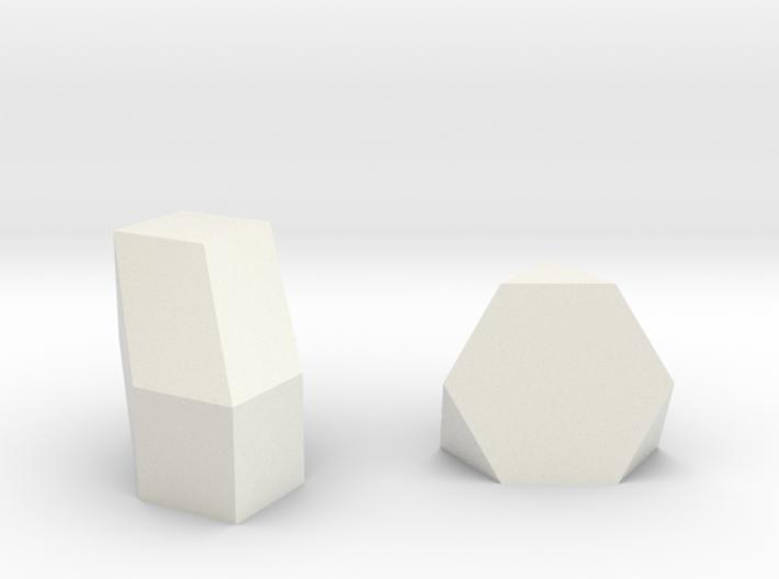 Geometric Rockz  3d printed