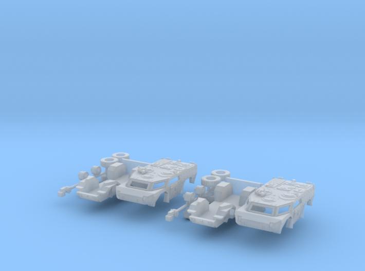 2x Spähwagen / scout car Fennek 1:144 3d printed