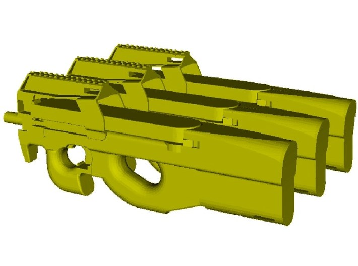 1/35 scale FN Herstal P-90 Fabrique Nationale x 3 3d printed