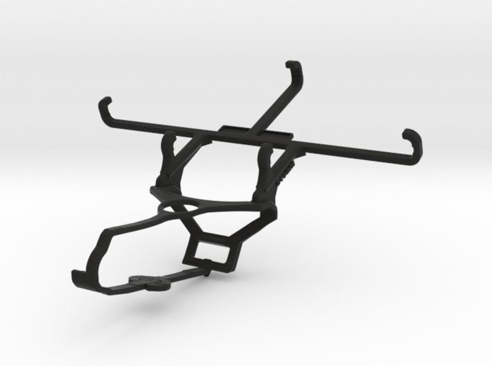 Steam controller & Gionee Marathon M5 lite - Front 3d printed