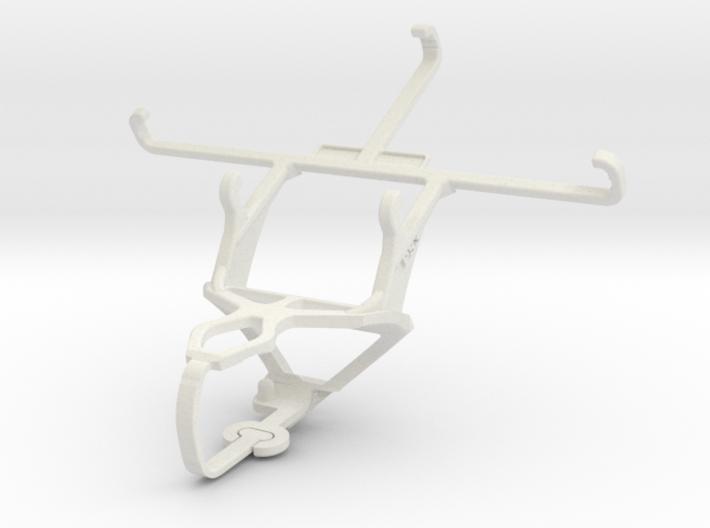 Controller mount for PS3 & QMobile Noir i8 3d printed