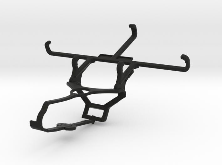 Steam controller & QMobile Noir LT150 - Front Ride 3d printed