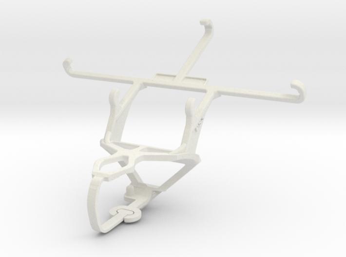 Controller mount for PS3 & QMobile Noir LT600 3d printed