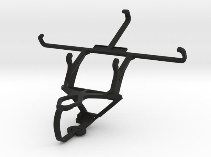 PS3 controller & QMobile Noir S1 - Front Rider 3d printed