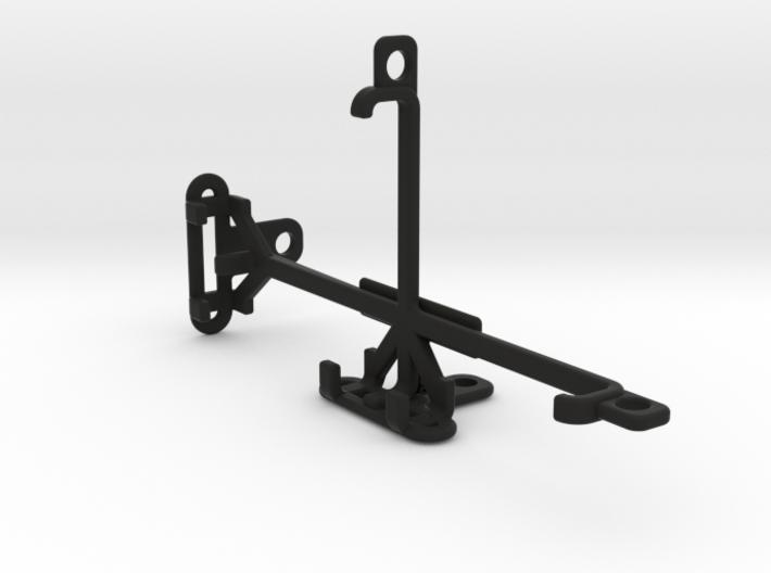 QMobile Noir X60 tripod & stabilizer mount 3d printed