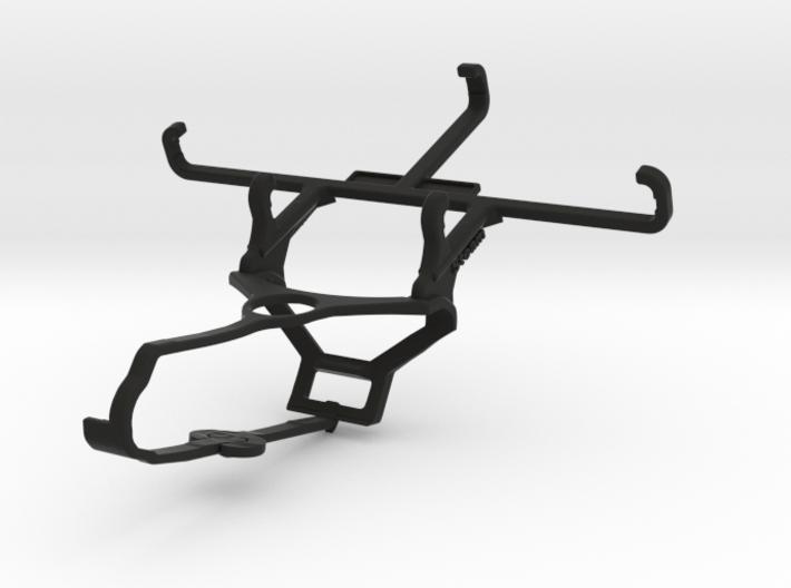 Steam controller & QMobile Noir X60 - Front Rider 3d printed