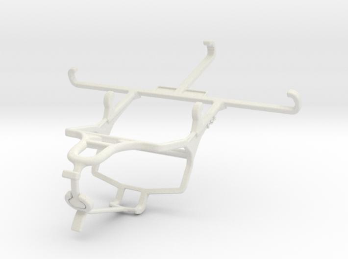 Controller mount for PS4 & QMobile Noir Z8 3d printed