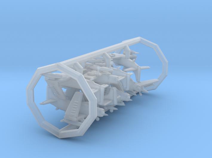 AD4/A-1 w/gear x8 (FUD) 3d printed