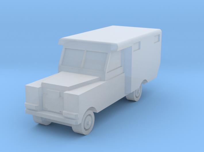 1/220 Land Rover Ambulance 3d printed