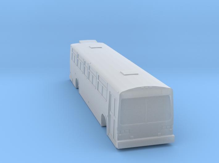 N scale GM/MCI/nova classic bus 1 door 3d printed