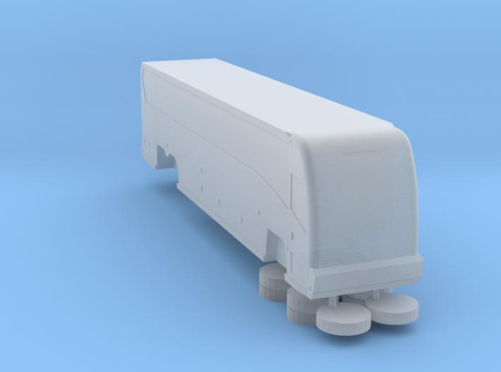 N scale 1:160 MCI J4500 coach 3d printed