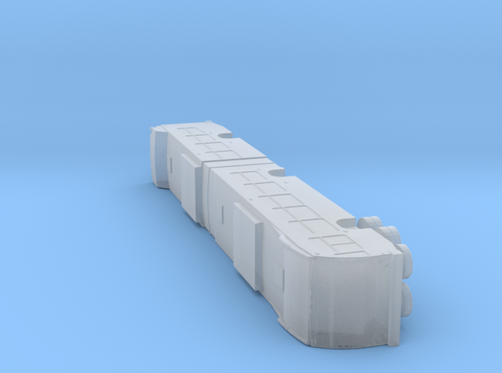 N scale 1:160 Nova bus LFS articulated 3d printed