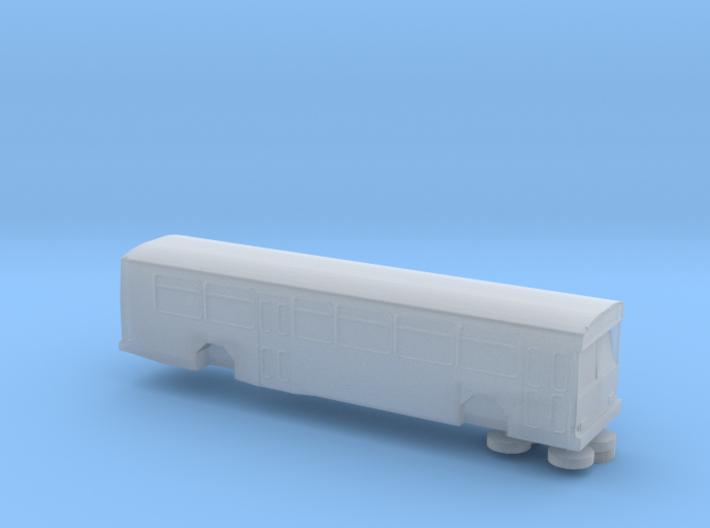 N Scale 1:160 Gillig Phantom bus 3d printed