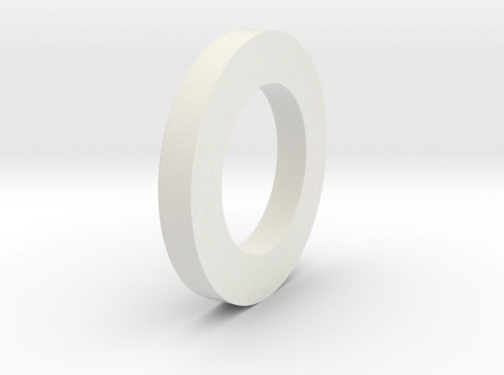 "2.00"" to 29mm Centering Ring 3d printed"