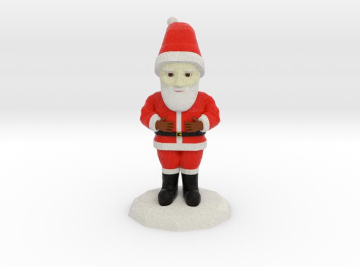 Santa Clause 3d printed
