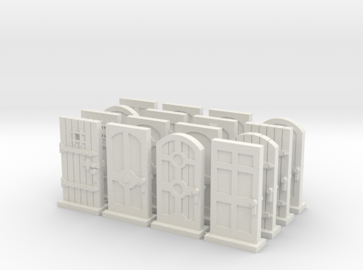 Mansions of Madness 2ed: Door Tokens 3d printed