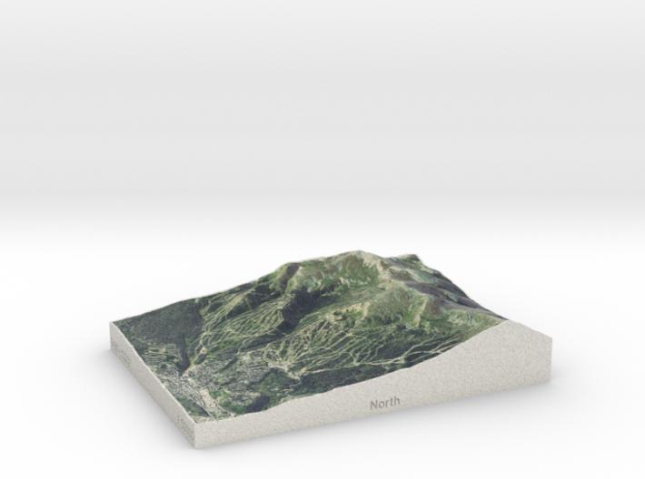 Breckenridge, Colorado, USA, 1:50000 3d printed